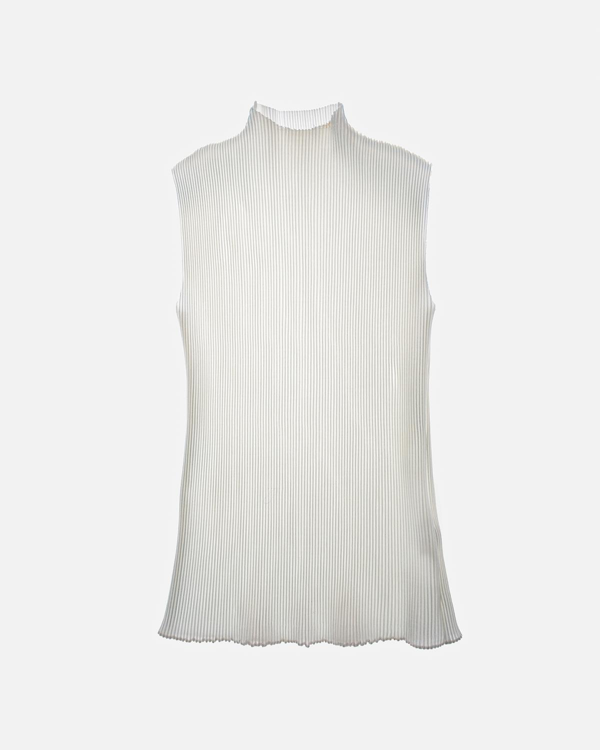 Pleated Pearl Lurex Top