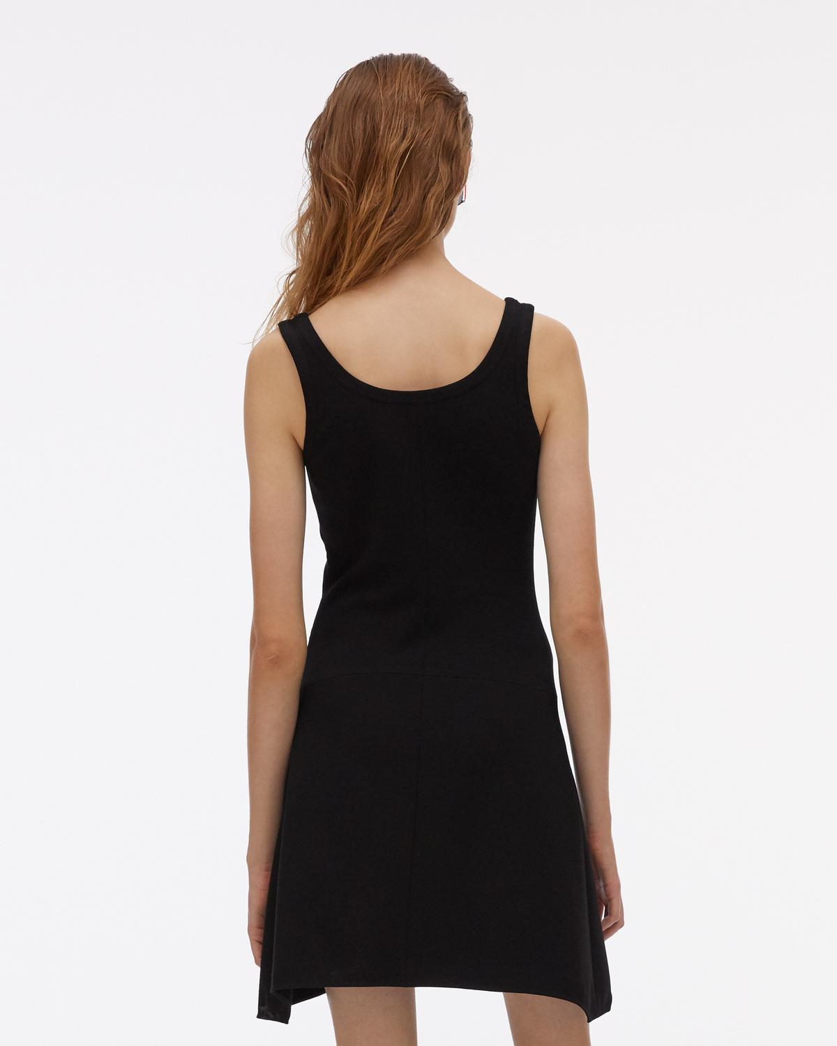 Cross Seam Viscose Tank Dress