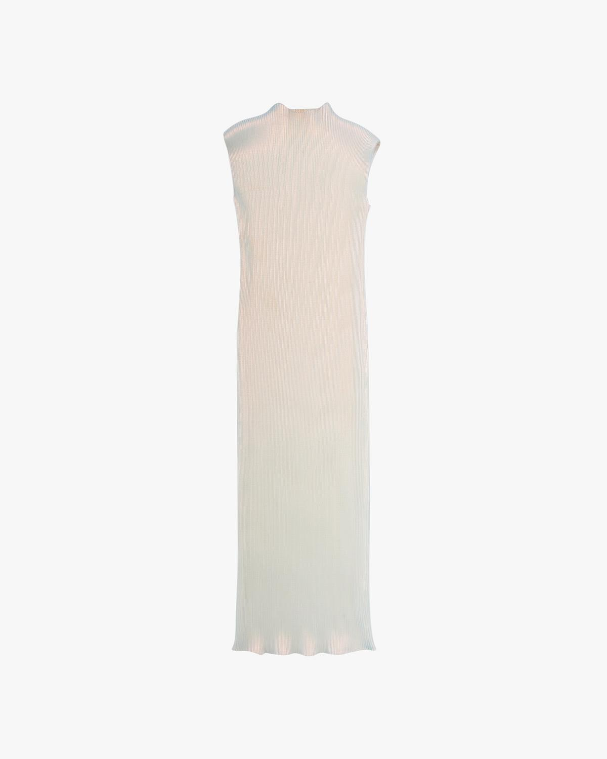 Pleated Pearl Lurex Dress