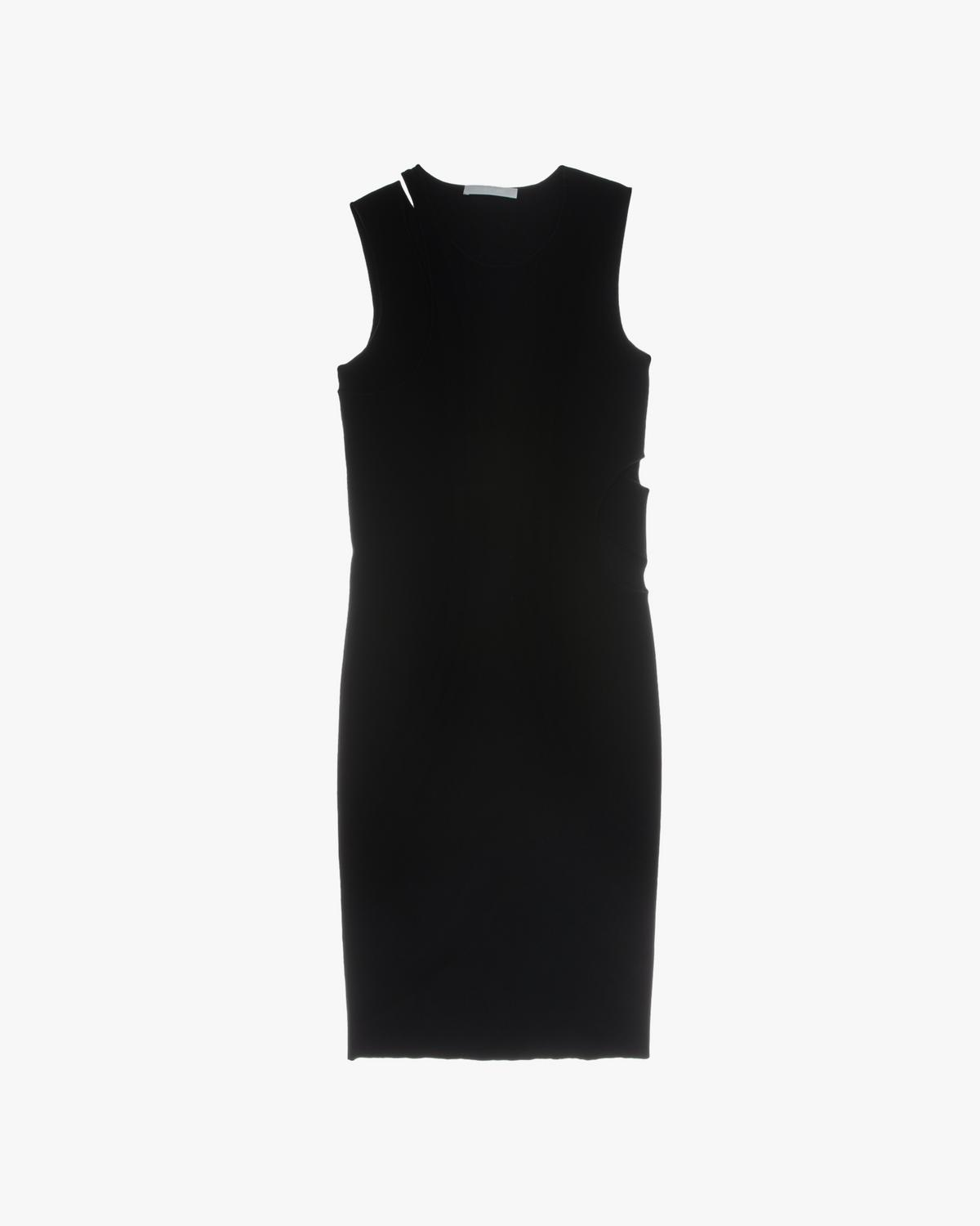 Slash Overlay Tank Dress