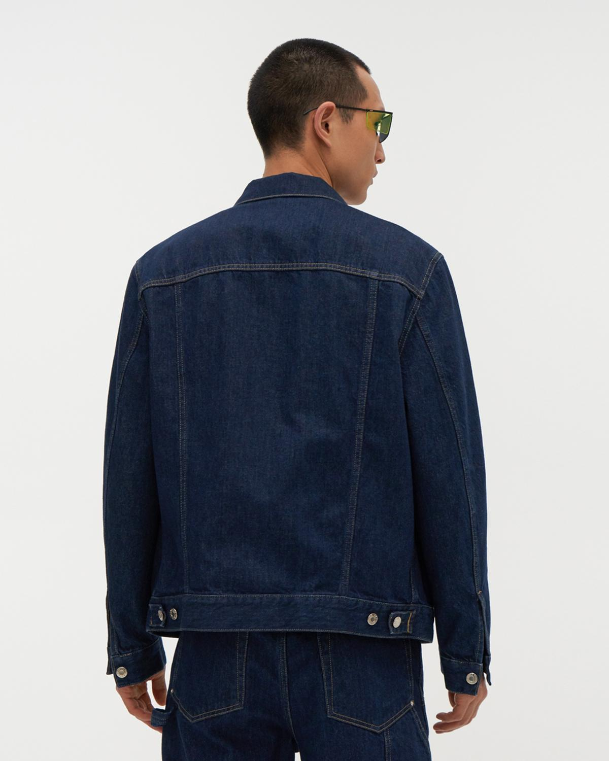Industry Masc Big Trucker Jean Jacket