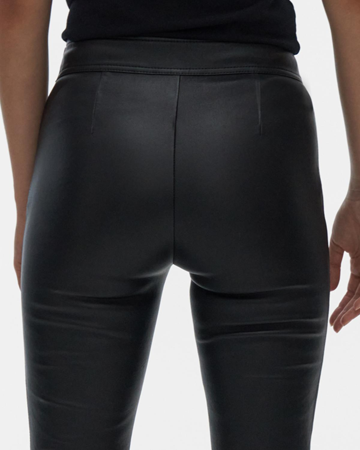 Flr Leather Legging