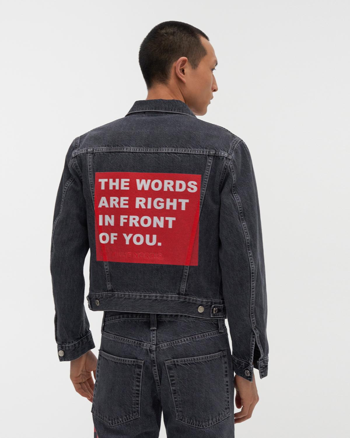 Willie Norris Masc Trucker Jean Jacket