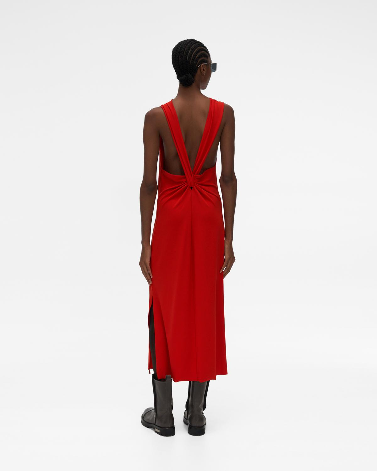 Back Twist Dress