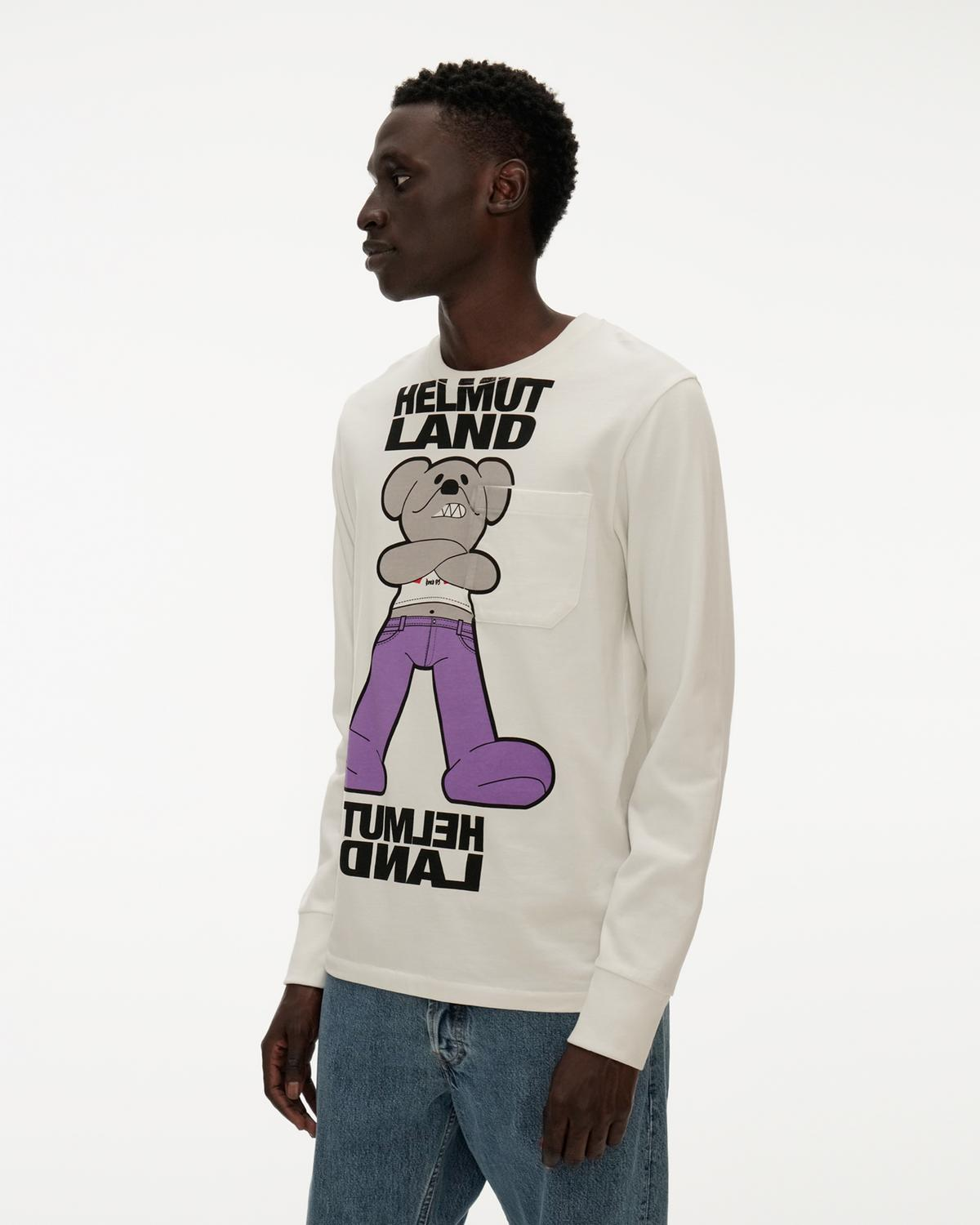 Helmut Land® Mascot Long-Sleeve Tee