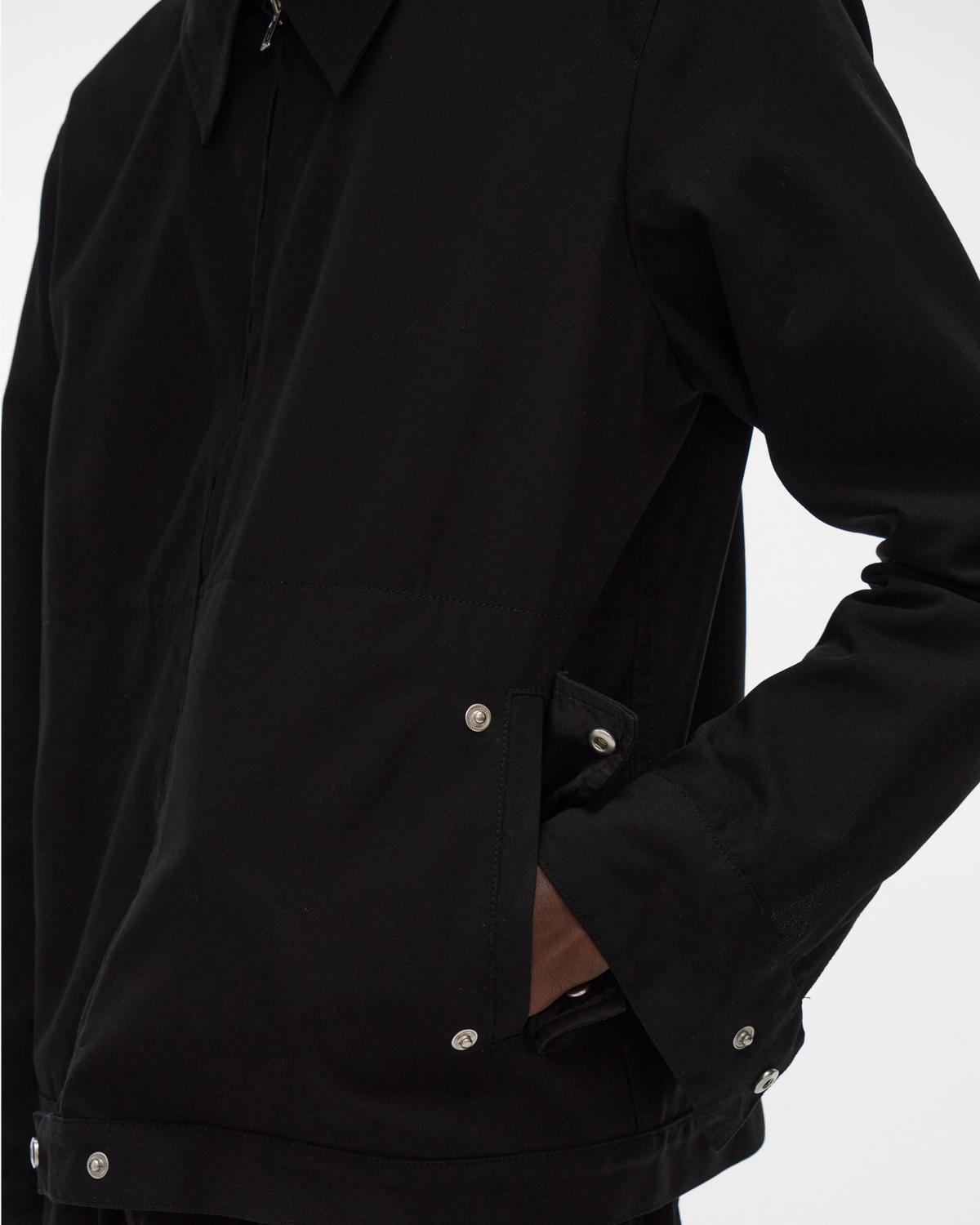 Crepe Zip Jacket