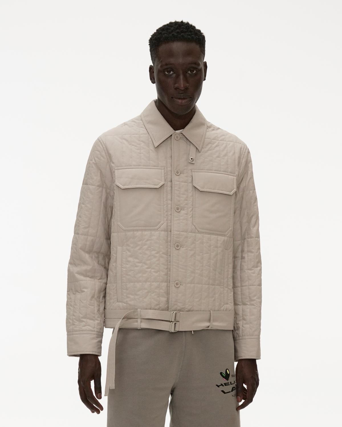 Cotton Poplin Quilted Jacket