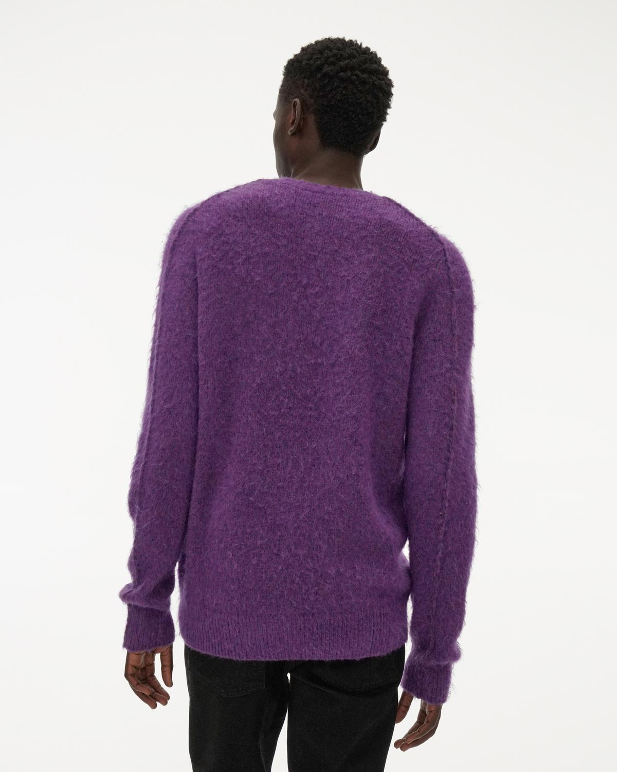 Brushed Alpaca Crewneck