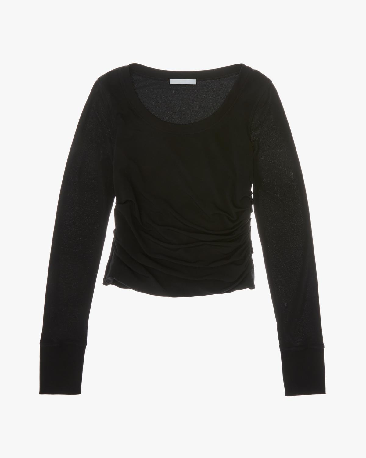 Twist Wide-Neck Top
