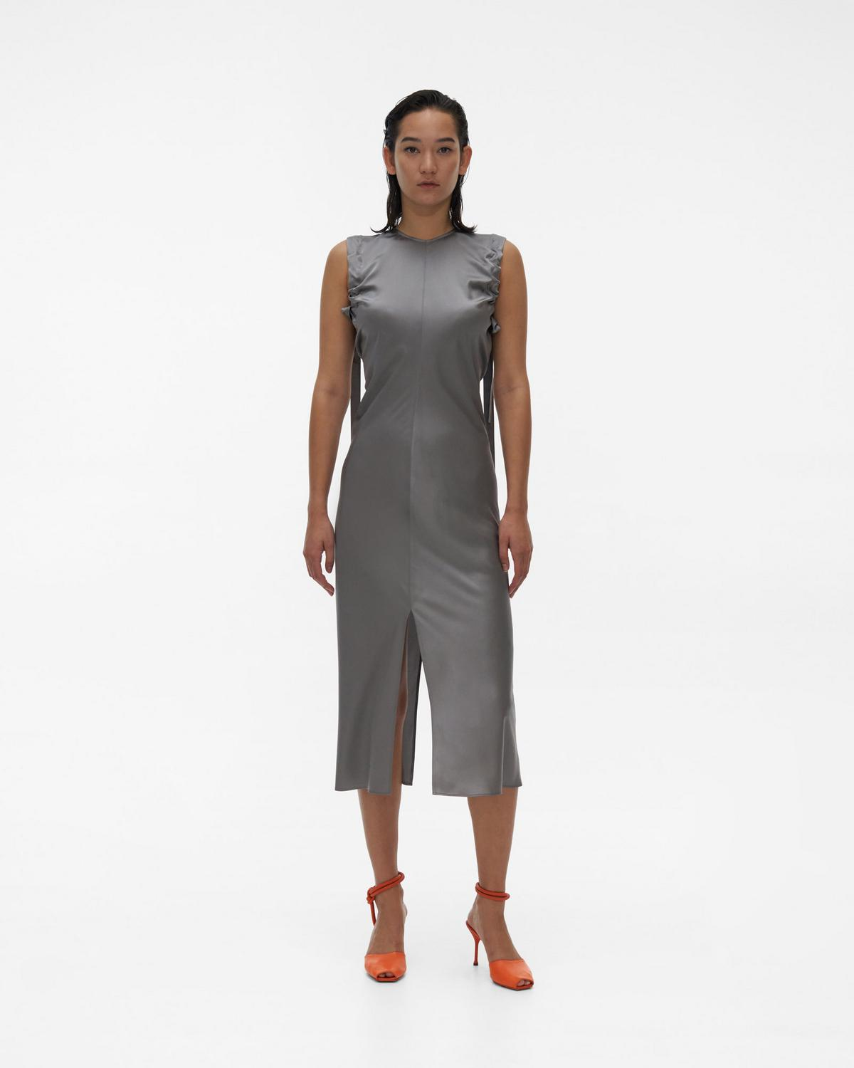 Ruched Armhole Dress