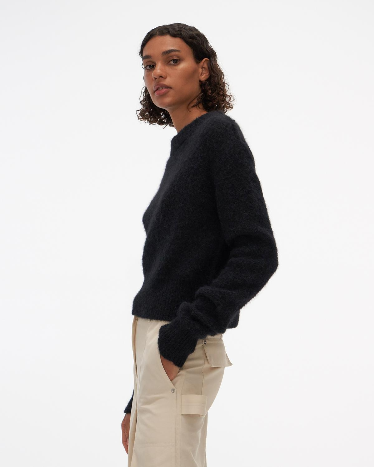 Shrunken Crewneck Sweater