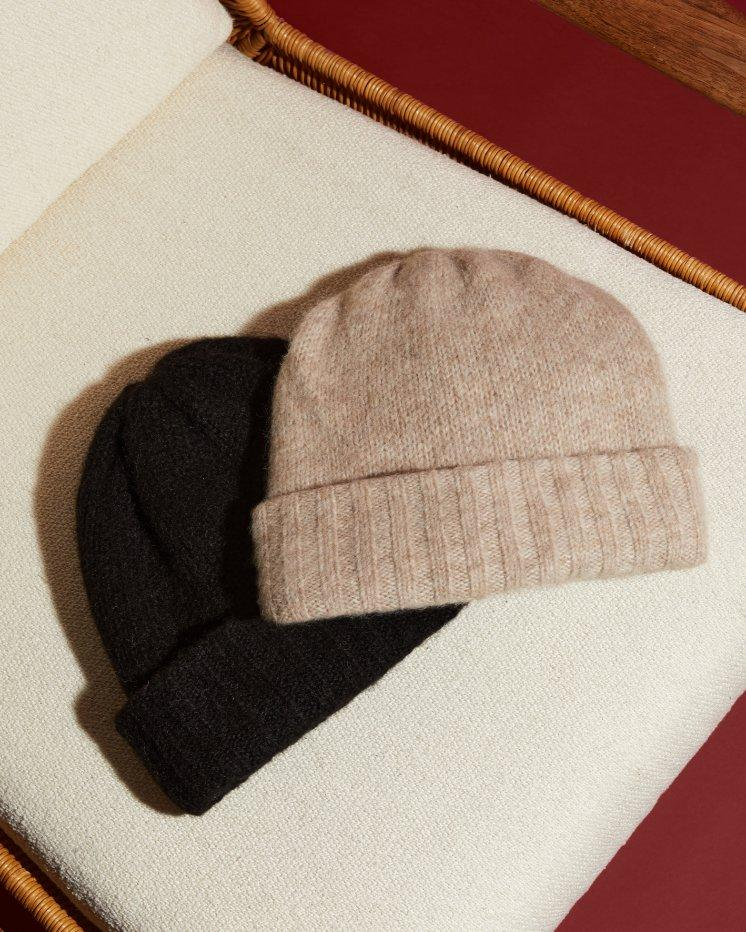 Beanie in Brushed Alpaca