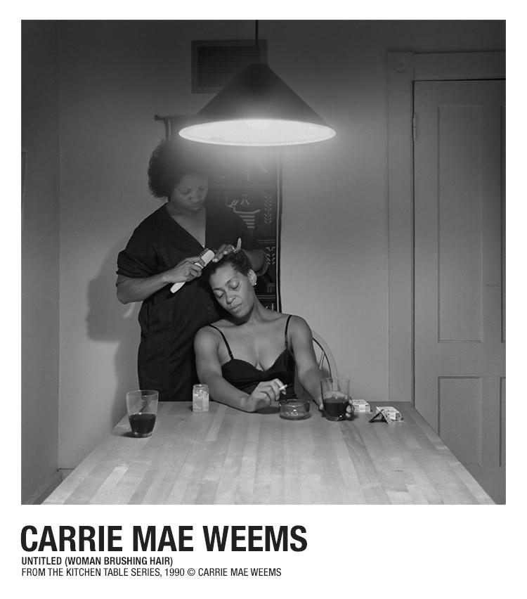 Carrie Mae Weems Kitchen Table Series Helmut lang carrie mae weems artist series official site projects the artist series carrie mae weems workwithnaturefo