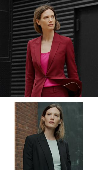 4db210f2f5011 A well-cut blazer in a statement color is a wardrobe essential you ll reach  for again and again.