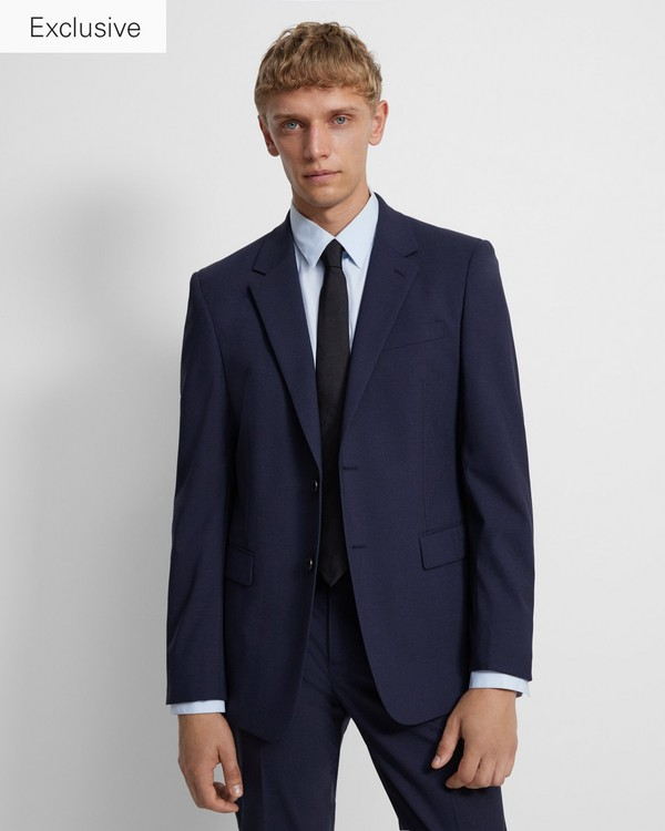 띠어리 맨 실크 넥타이 Theory Roadster Tie in Silk,BLACK