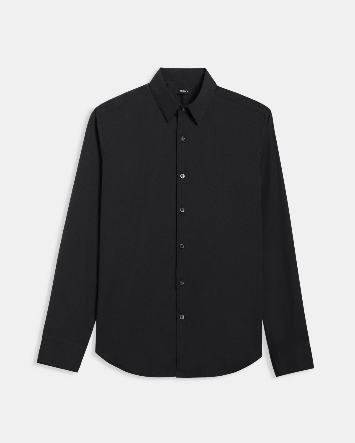 Stretch Cotton Tailored-Fit Shirt