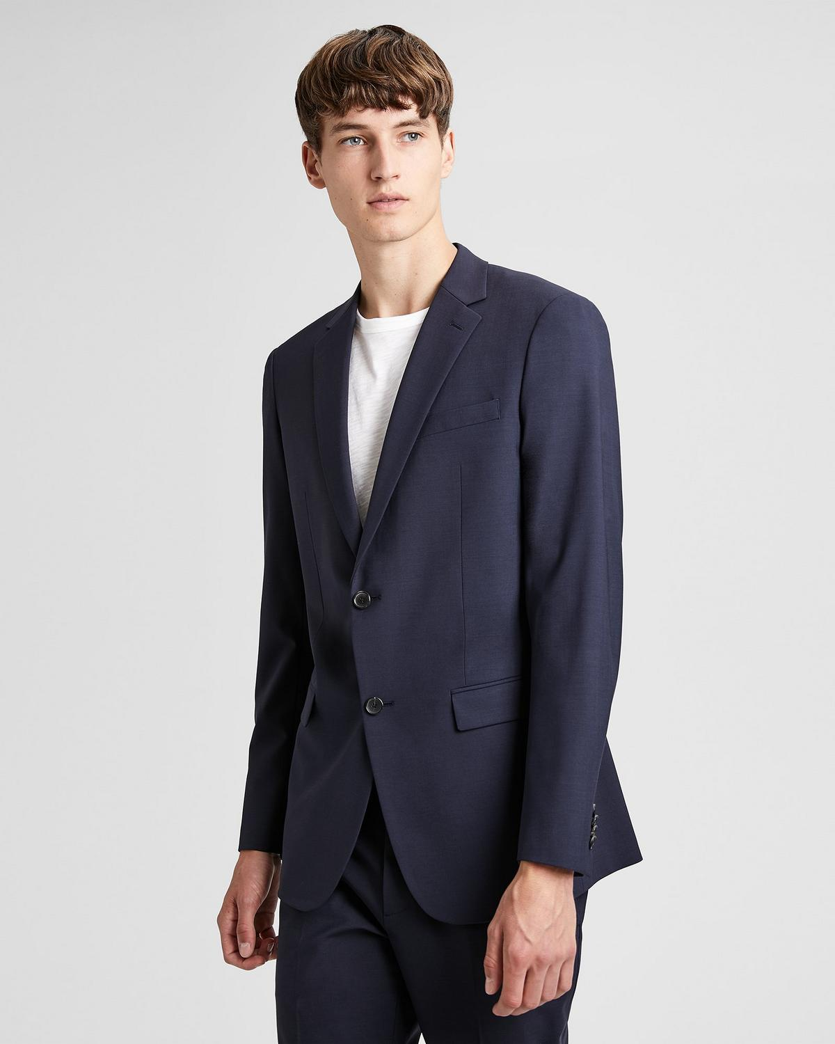 Stretch Wool Wellar Blazer