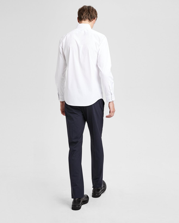 Theory stretch cotton dress shirt for How to stretch a dress shirt