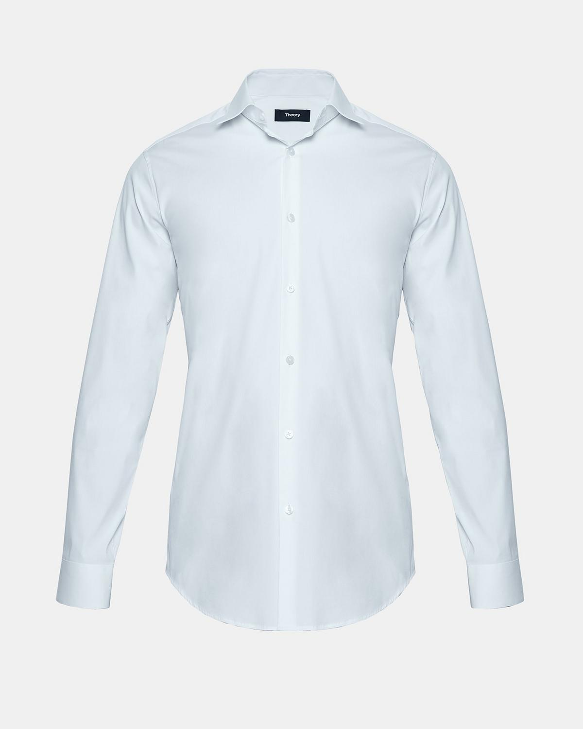 8ed4eb455eb Stretch Cotton Slim-Fit Dress Shirt 1 - click to view larger image ...