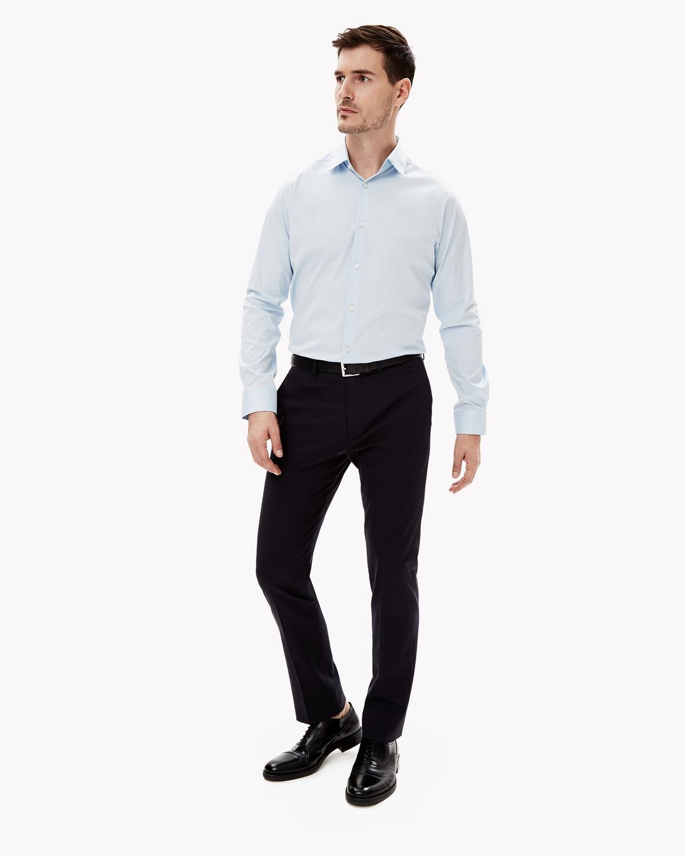 2781925702e Theory Stretch Cotton Dress Shirt | Theory.com