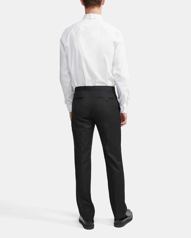 Waist Size 38 Long  Black Light Weight 100/% Wool Tuxedo Pants Tux Trousers