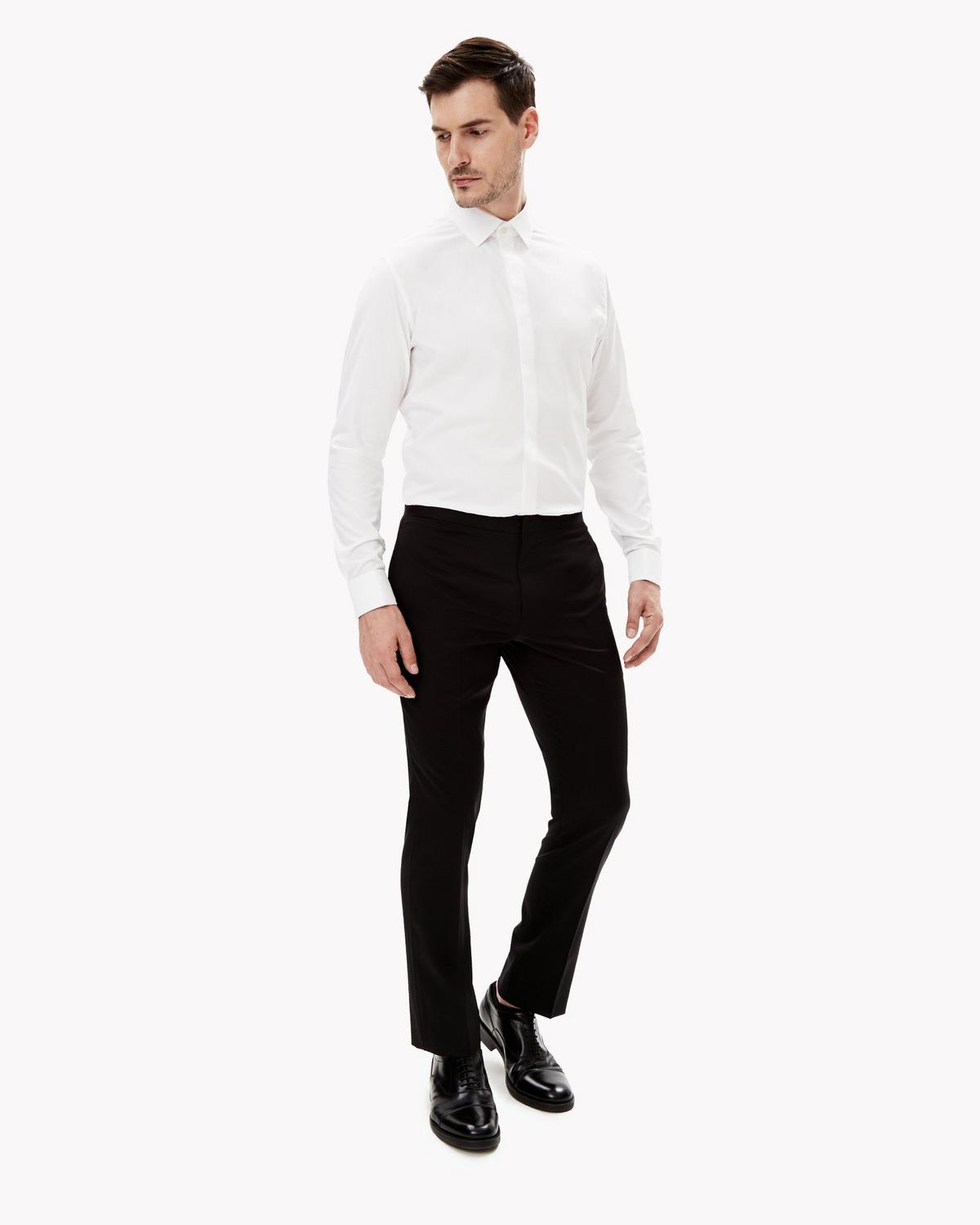 Stretch Cotton Tuxedo Shirt