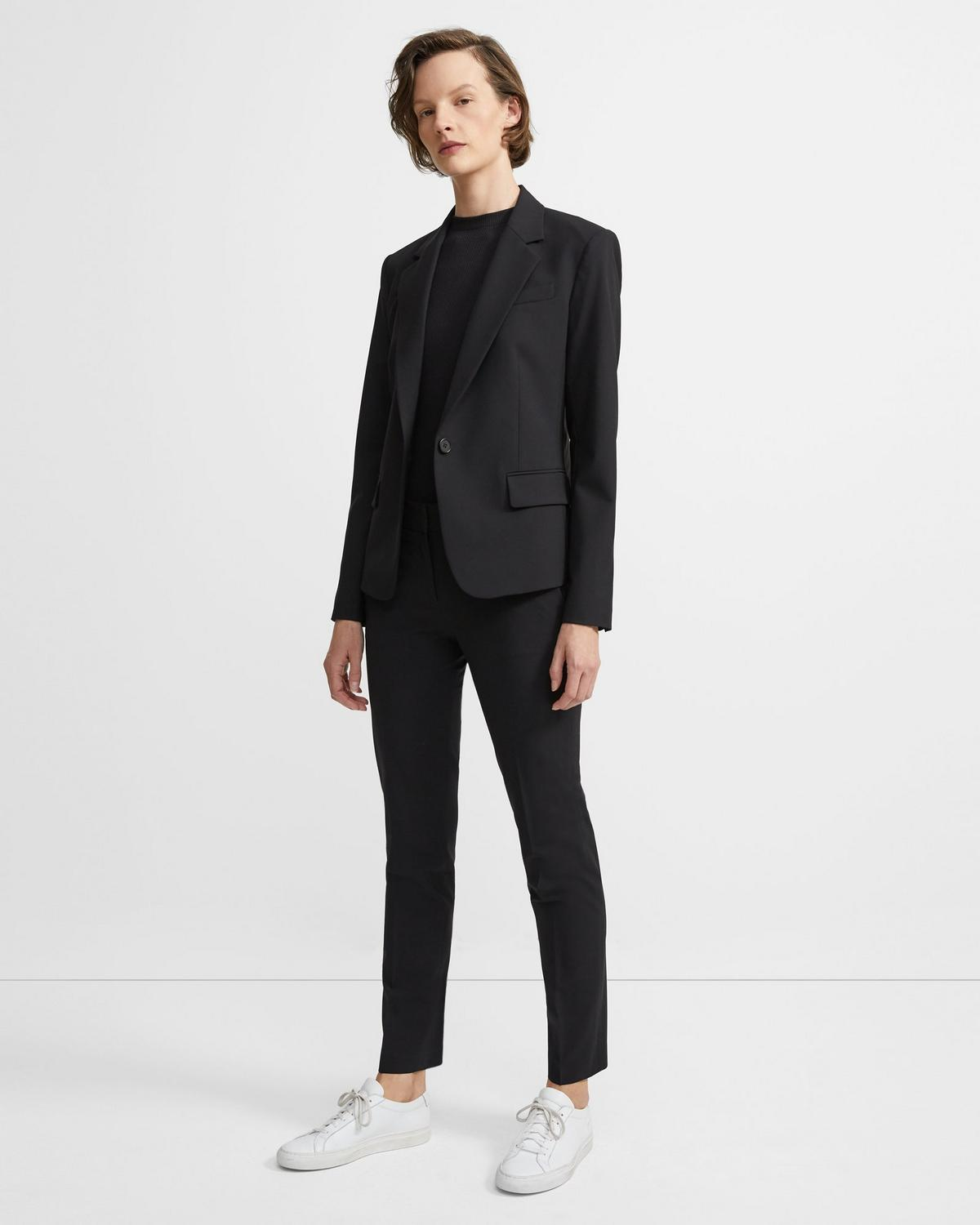 Gabe Blazer in Stretch Wool