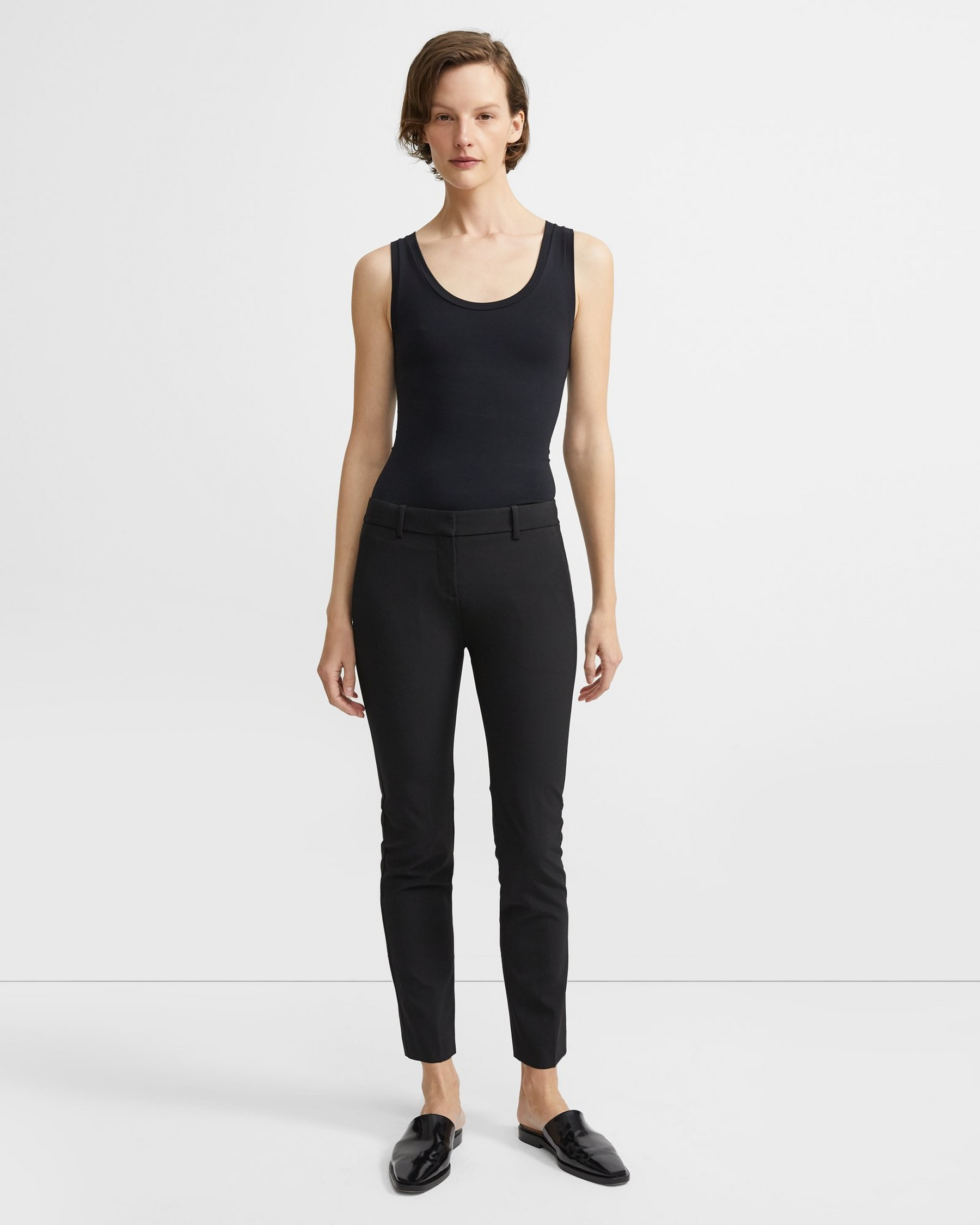 Sale alerts for  Stretch Wool Classic Crop Pant - Covvet