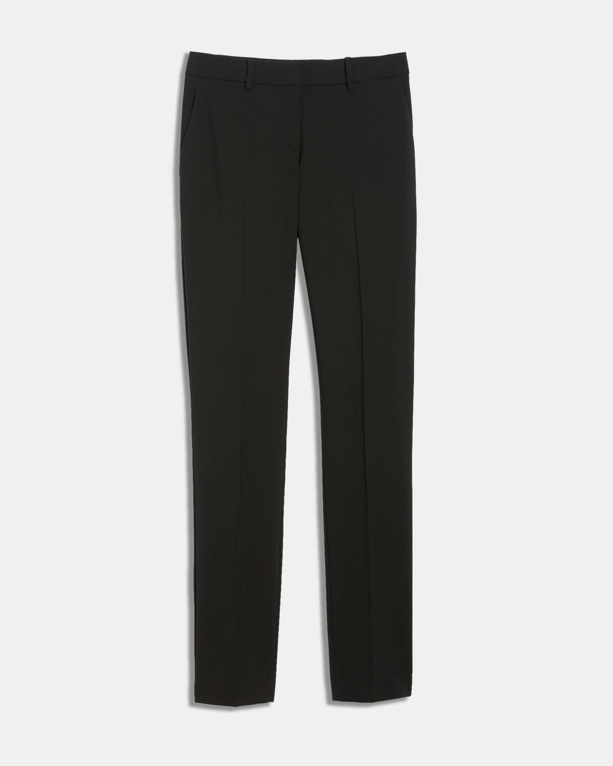 Italian Stretch Wool Slim Pant