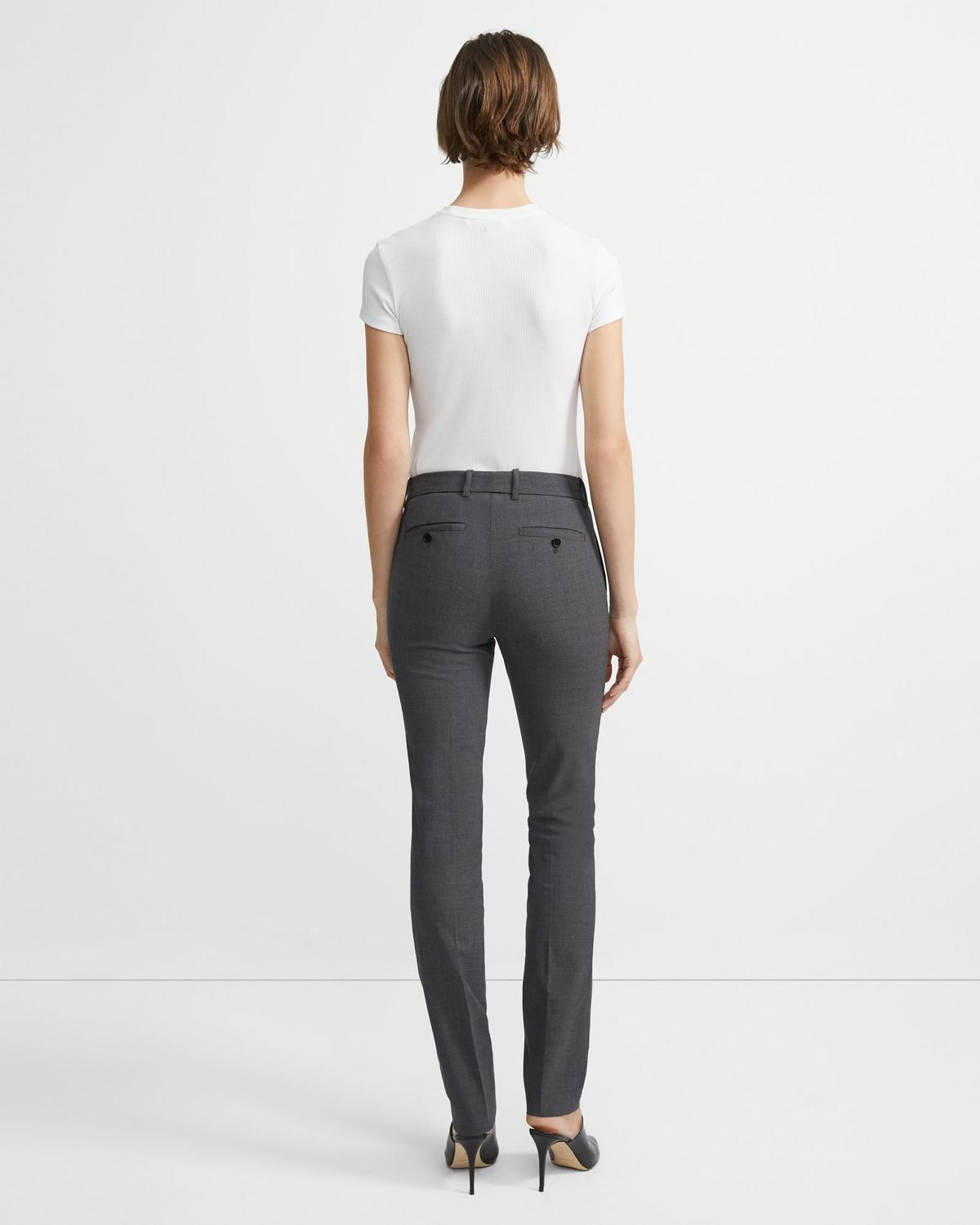 Slim Pant in Stretch Wool