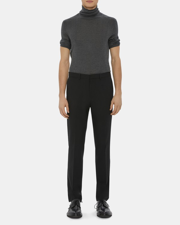 Straight-Fit Suit Pant In Fine Wool