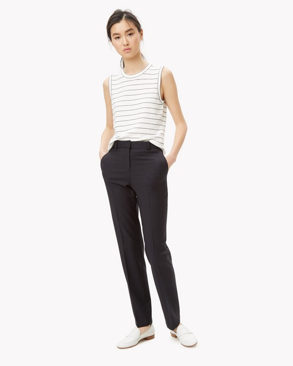 Technical Wool Slim Pant
