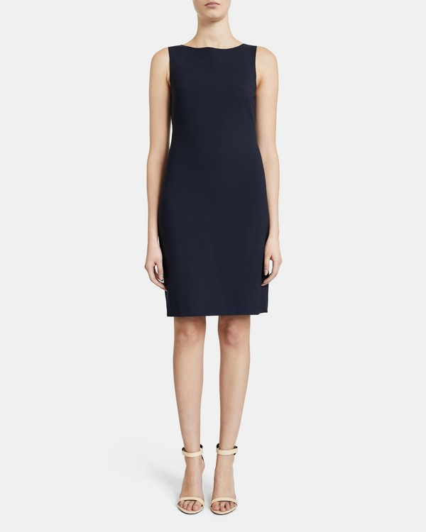 Betty Dress In Stretch Wool