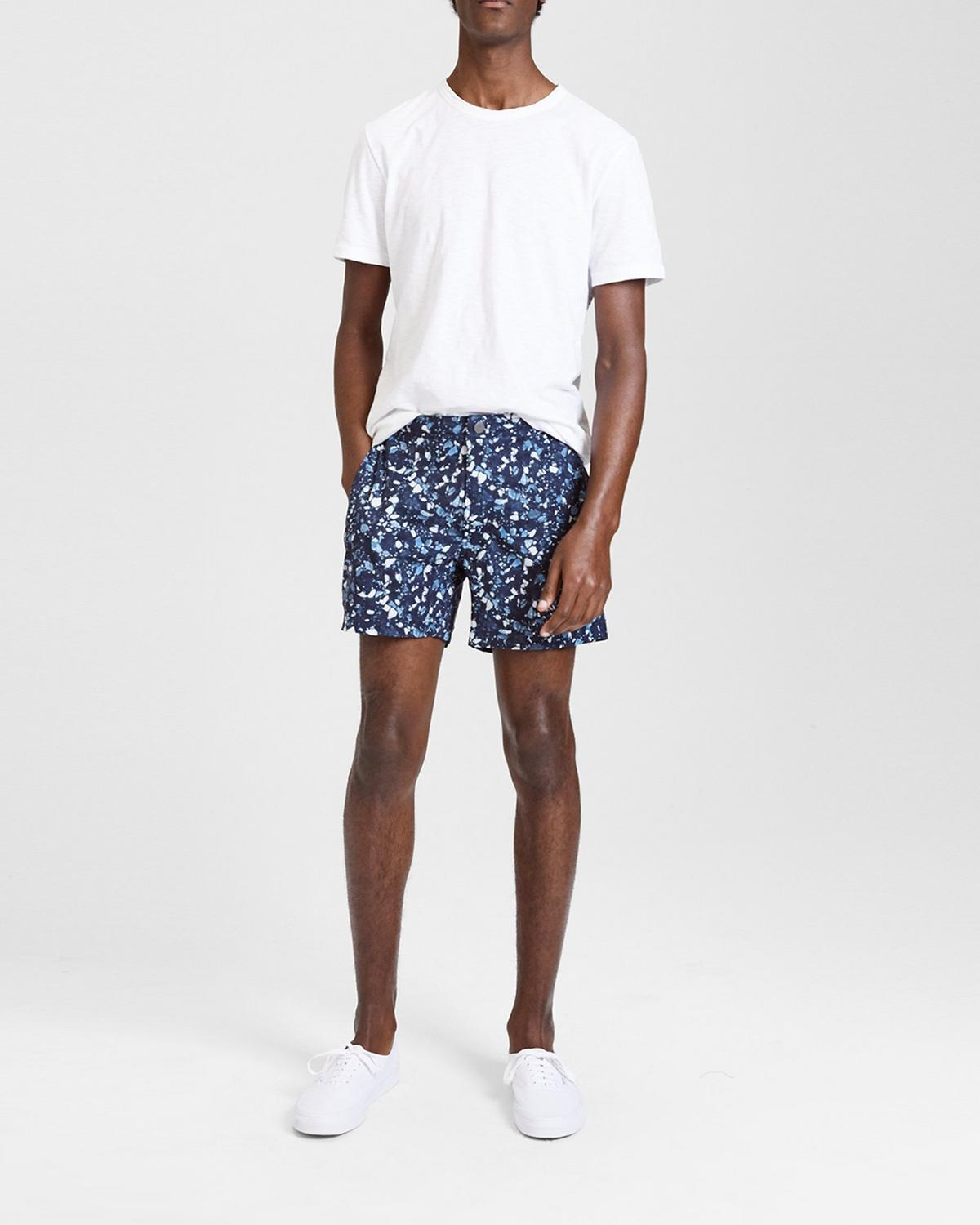 Onia x Theory Abstract Calder Swim Short
