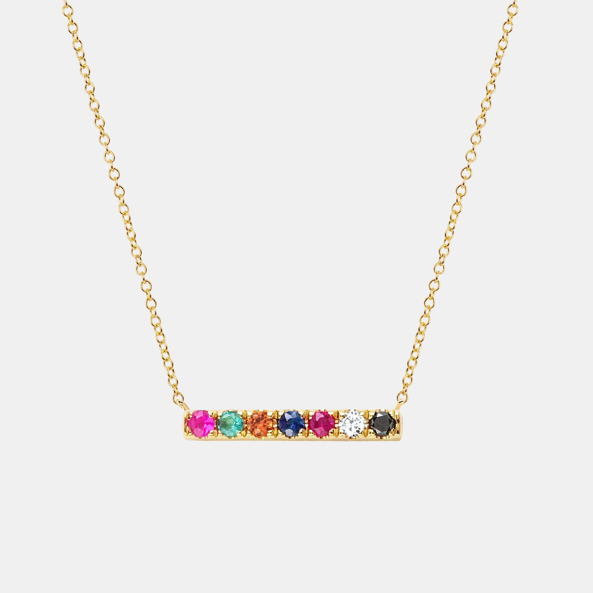 necklace curved mini bar with necklaces adore gold zoom created crystals swarovski jewellery
