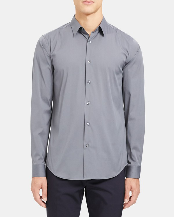 Tailored Shirt in Stretch Cotton