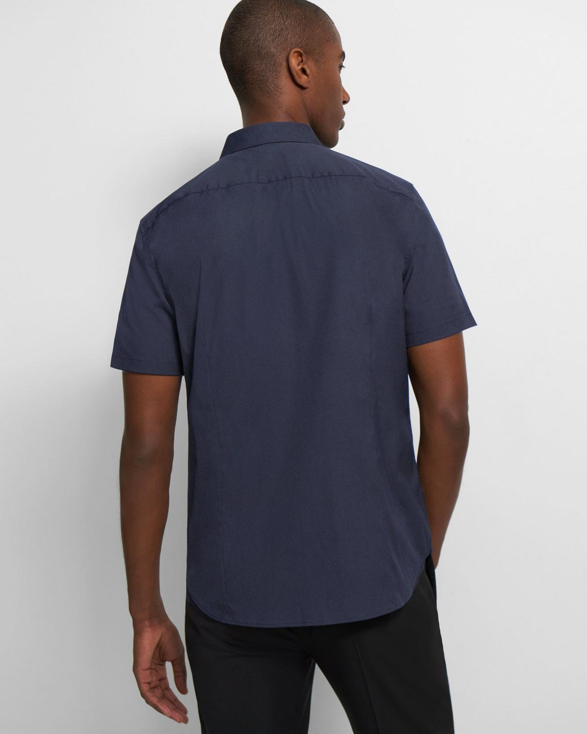 Sylvain Short-Sleeve Shirt in Good Cotton