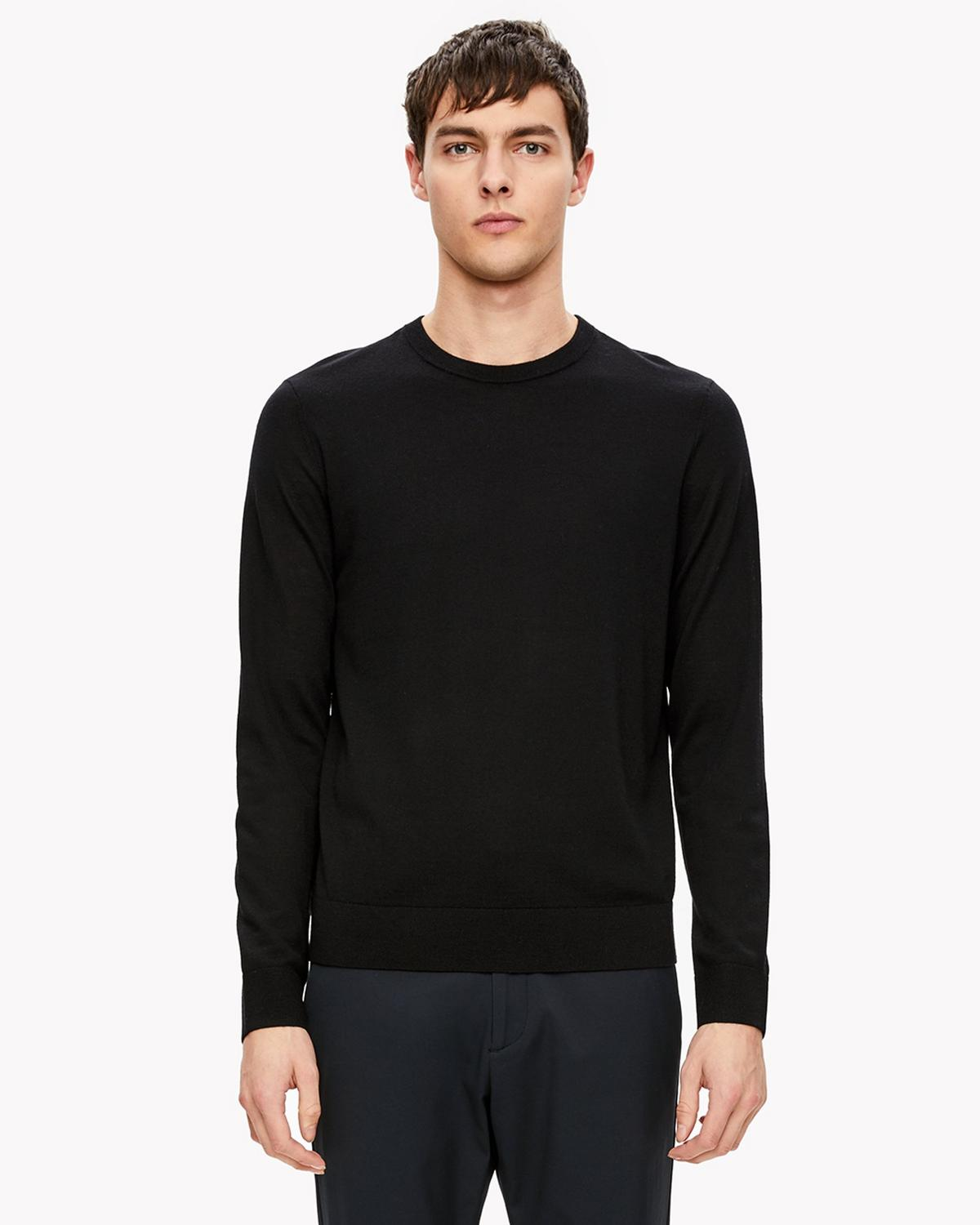 Feather Merino Crewneck