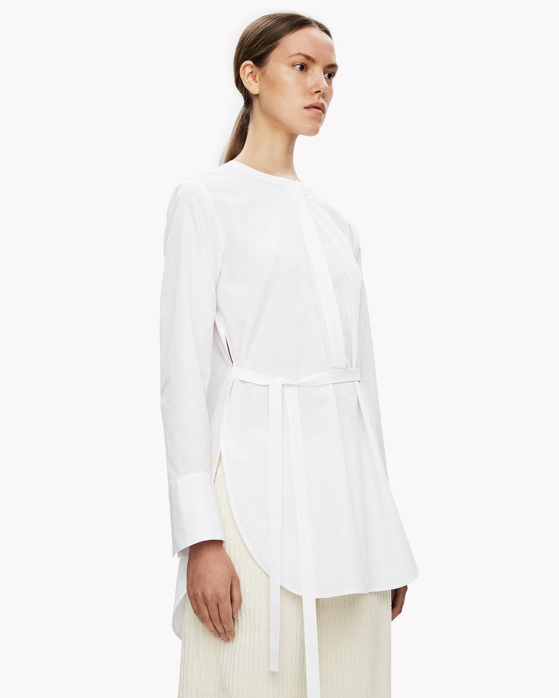 a9c15e82382 Cotton Belted Tunic | Theory