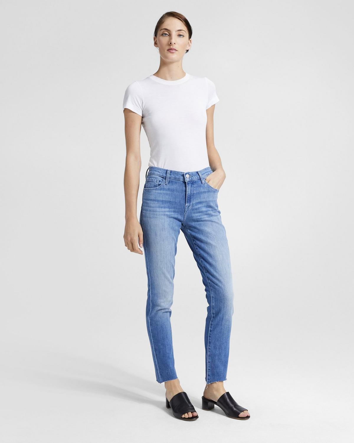 J Brand Ruby High-Rise Crop Jean