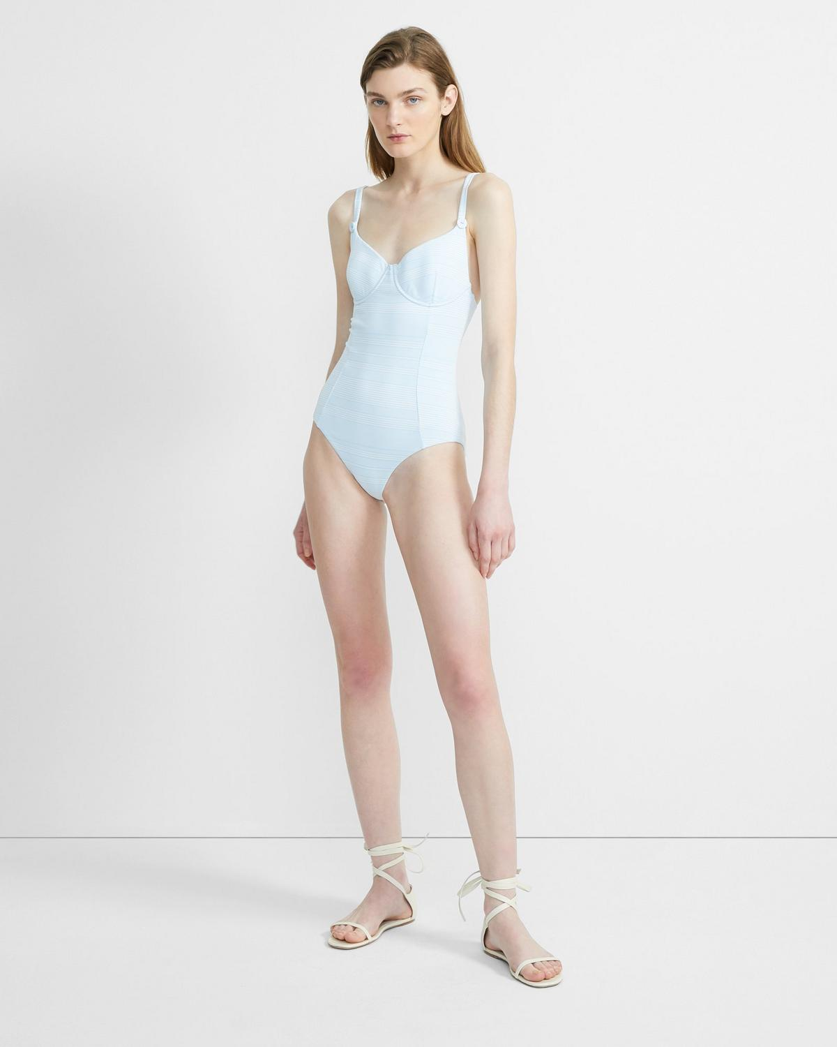 Onia x Theory Annalise One Piece Swimsuit
