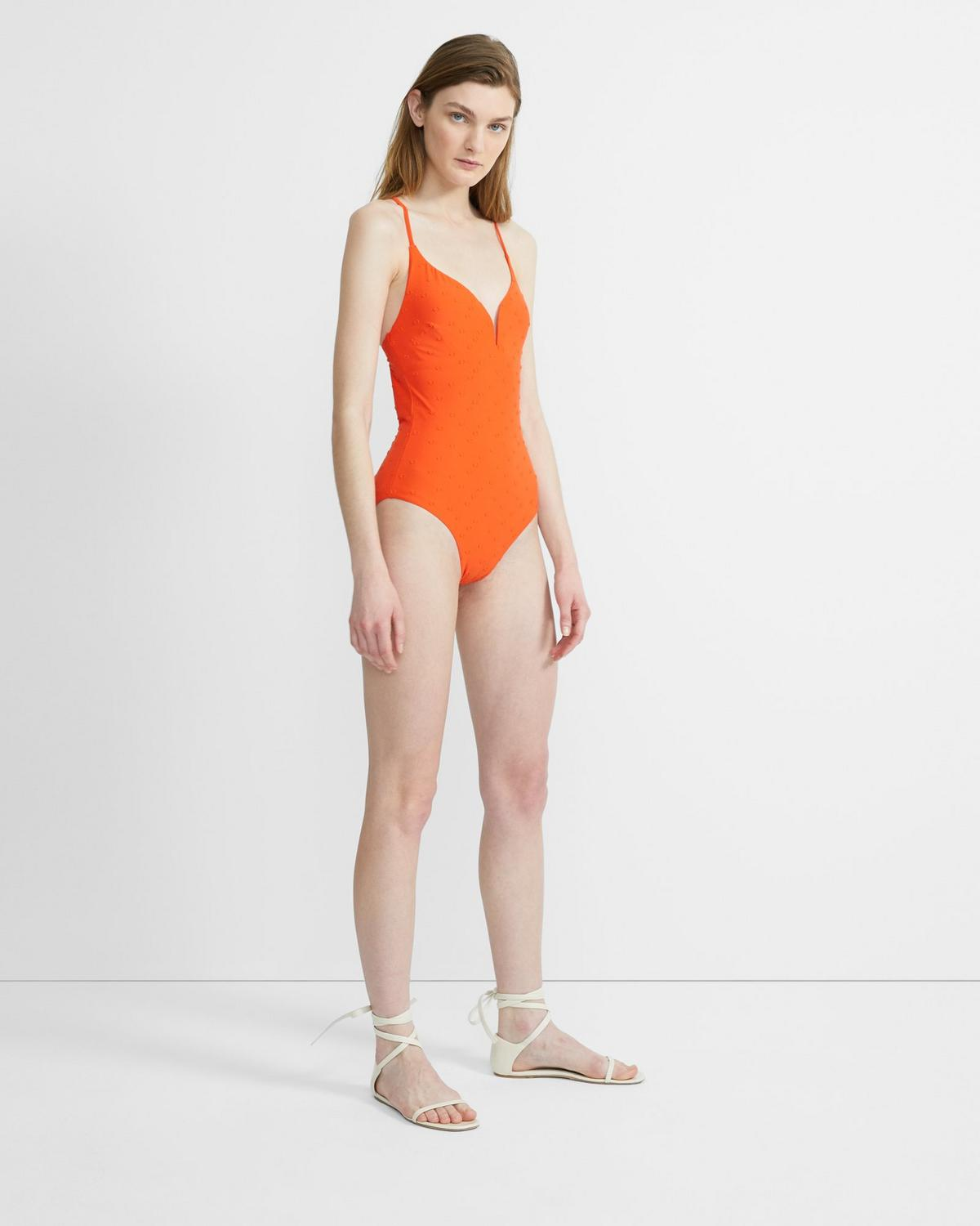 Onia x Theory Gloria One Piece Swimsuit