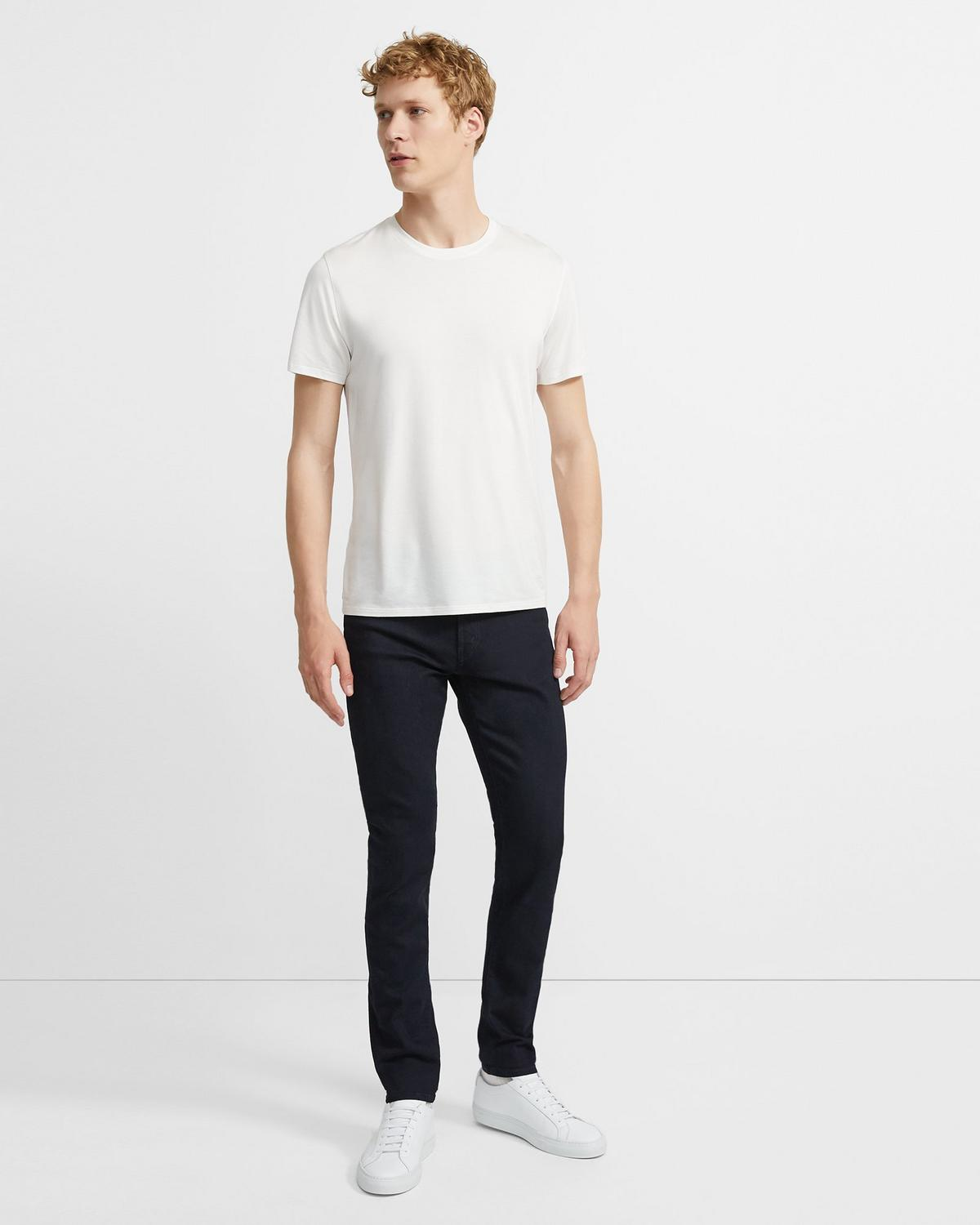 J Brand Mick Skinny Fit Jean in Black Fill