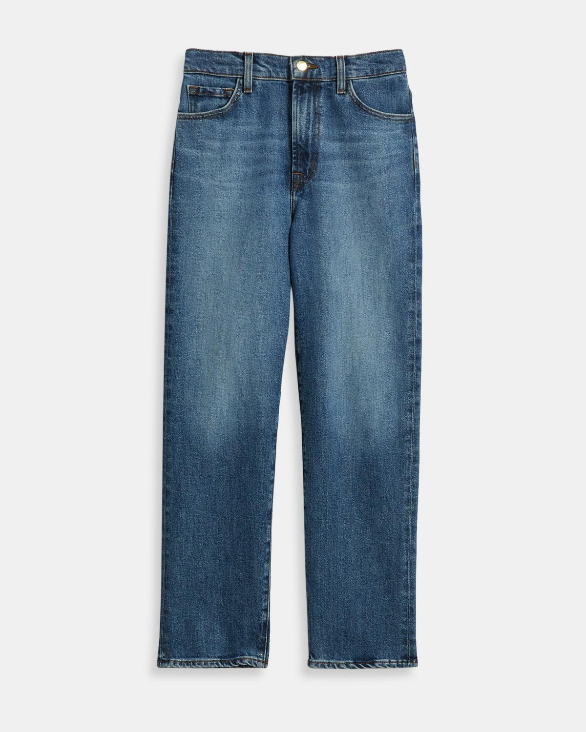 f603a1284 J Brand Jules High-Rise Straight Leg Jean 1 - click to view larger image ...