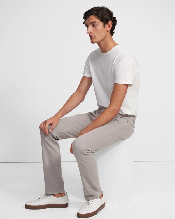 띠어리 맨 데님진 Theory J Brand Kane Straight Fit Jean in French Terry,KECKLEY FLIHNT