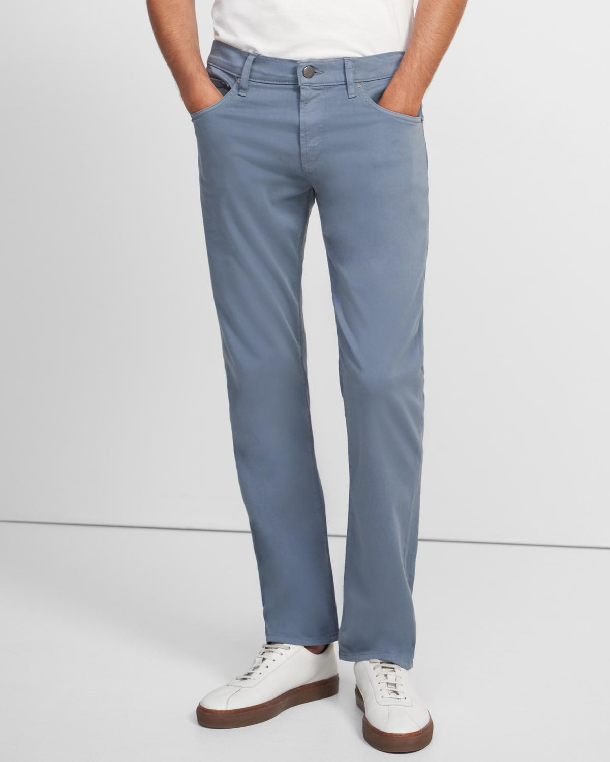 J Brand Kane Straight Fit Jean in Cotton Linen