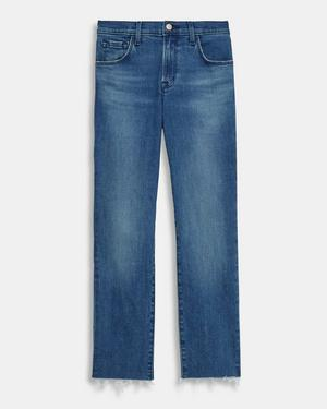 J Brand Adele Mid Rise Straight Jean