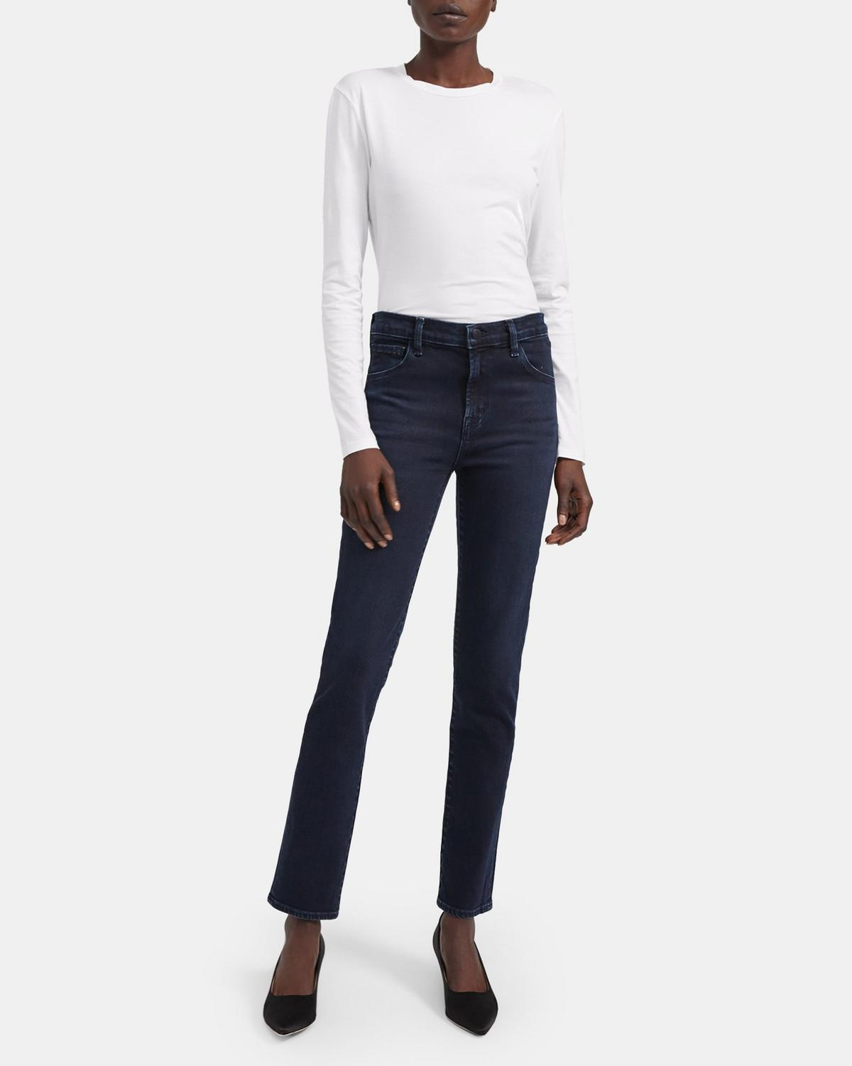 J Brand Ruby 30 High Rise Cigarette