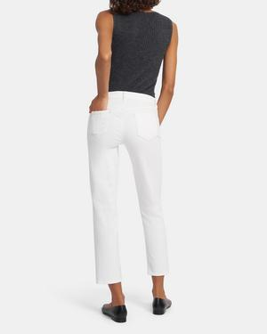 J Brand Adele Mid-Rise Straight Jean in Super Stretch