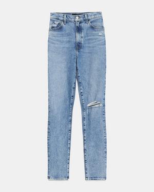 J Brand 1212 Runway High-Rise Slim Straight Jean in Comfort Stretch
